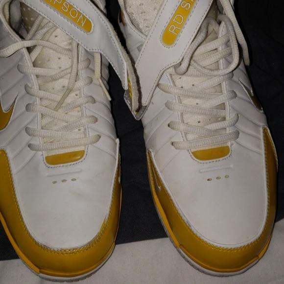 Nike Other - Nike air huarache 2k4 id white yellow 9.5